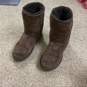 UGG Shoes - Chocolate  Brown Classic Short Ugg Boots